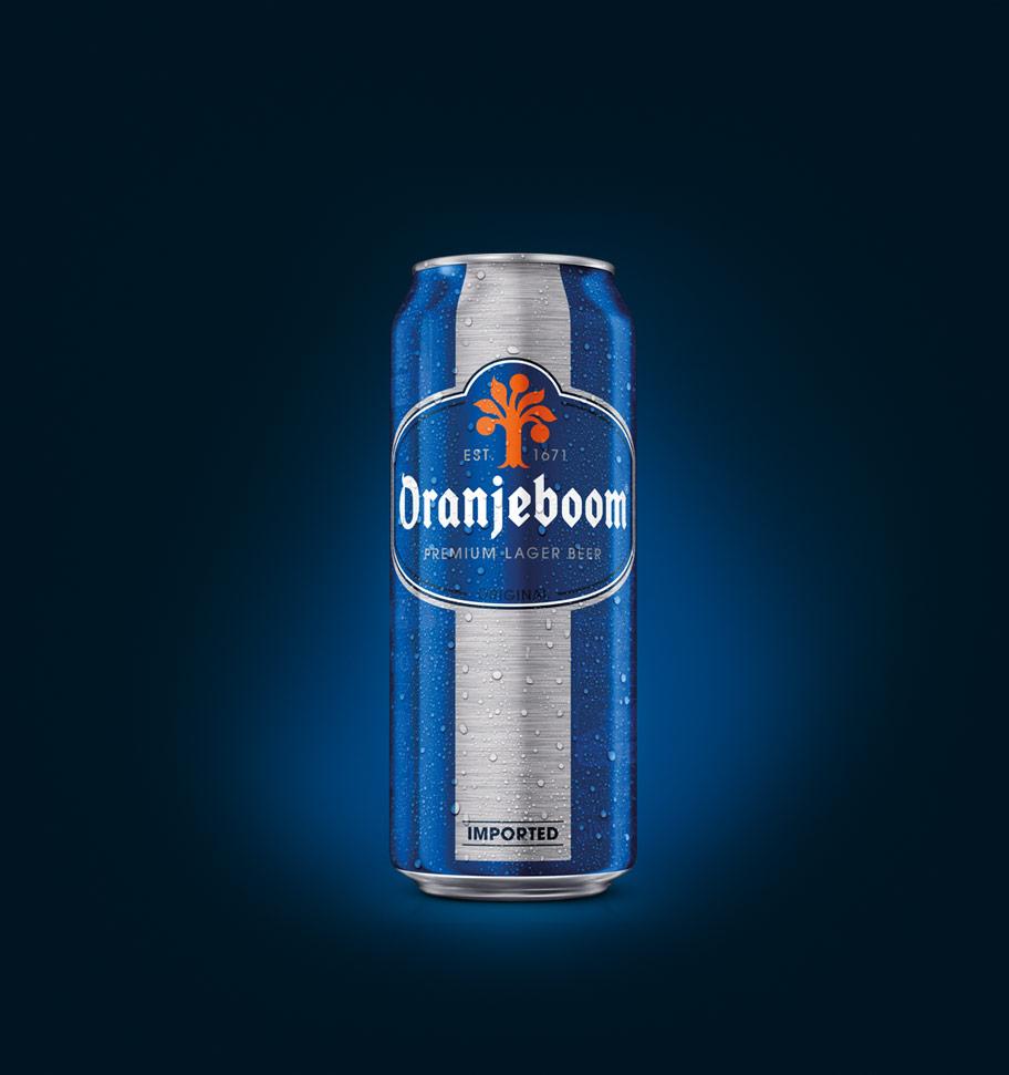 Oranjeboom premium lager can