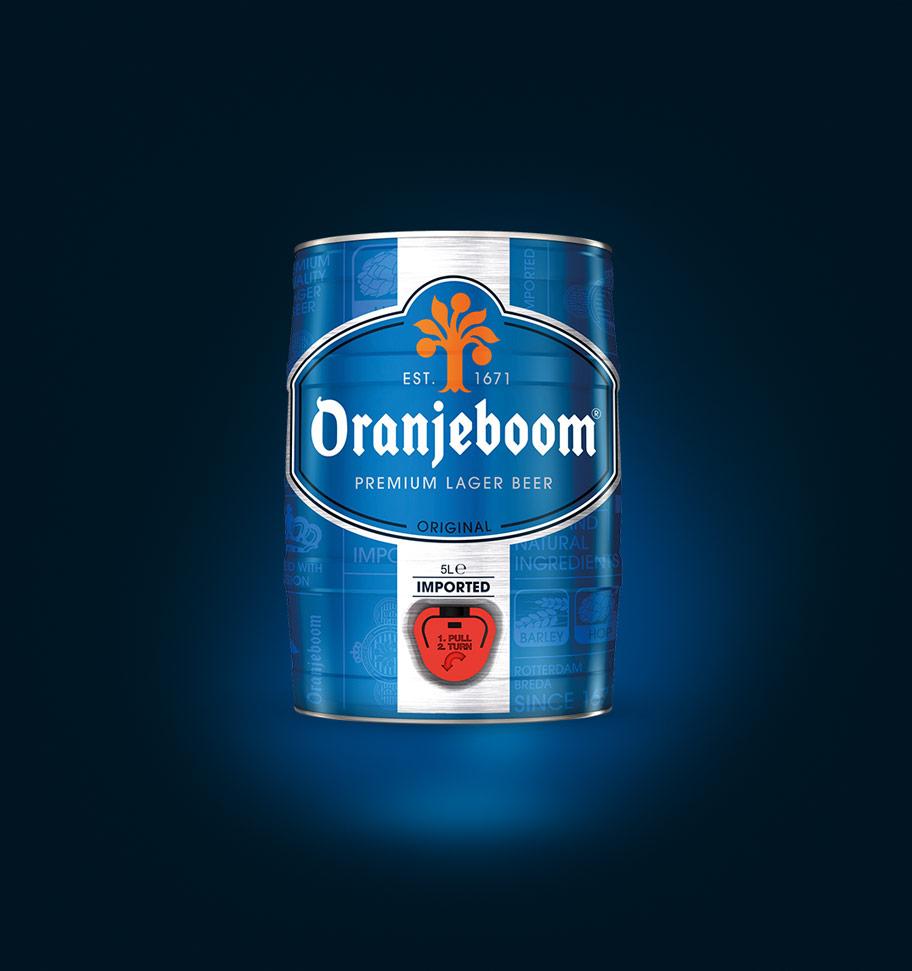Oranjeboom premium lager keg